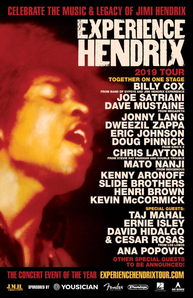 experience hendrix 2019